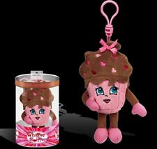 Whiffer Sniffers Shirley Sweet Chocolate Cupcake Scented Plush Backpack Clip