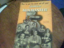 How to get the most out of your Sunbeam Mixmaster 1940s?  b1ck