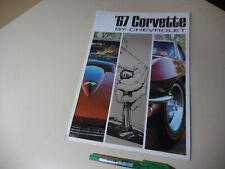 CHEVROLET '67 CORVETTE Sting Ray US Brochure C2