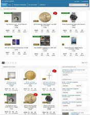 INTERNET AUCTION WEBSITE BUSINESS FOR SALE! ESTABLISHED WITH 130 LIVE LISTINGS
