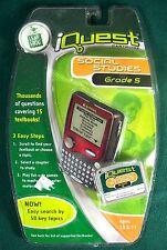 LeapFrog iQuest Social Studies Grade 5 Cartridge - New!