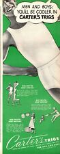 1950s vintage AD CARTER'S TRIGGS Underwear forMen and Boys  040520