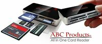 External All in 1 Multi USB 2.0 Picture Memory Card Reader SD MS MMC CF SM SONY