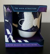 Disney MINNIE MOUSE The Main Attraction SPACE MOUNTAIN Mug Limited Release NEW