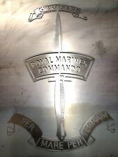 More details for royal marine commando sign wall badge steel emblem crest 900mm tall