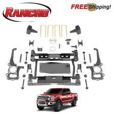 """Rancho 4.5"""" Suspension System Lift Kit Fits 2017-2018 Ford F150"""