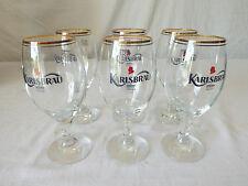 6 anciens Verres à Biere KARLSBRAU