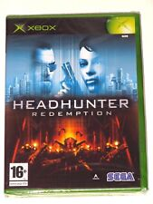 XBOX - HEADHUNTER REDEMPTION! BRAND NEW/SEALED! ITALY VER.