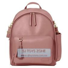 Skip Hop Greenwich Chic Backpack Baby Diaper Bag with Changing Pad- Dusty Rose