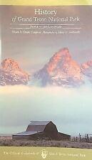 History of Grand Teton National Park (Paperback or Softback)