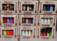 Cricket Lighters Full Size New 50 Count Cheapest Prices Anywhere