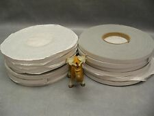 "Stockwell HT-800 Gasket Tape 3/16""X1/2""X20' Lot of 12 Rolls"
