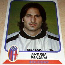 AGGIORNAMENTO FIGURINE CALCIATORI PANINI 2003/04 BOLOGNA PANSERA ALBUM
