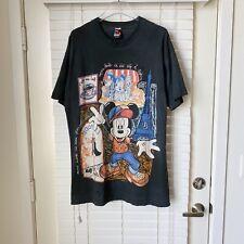 Vintage Mickey & Co In Paris 90s VTG Faded Disney Single Stitch T Shirt XL