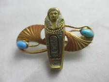 Turquoise Brooch/Pin Art Deco Fine Jewellery