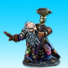 Barden Dwarf Cleric Reaper Miniatures Dark Heaven Legends Caster Melee Staff
