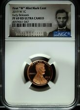 2019 W NGC Proof 69 Red Lincoln Shield Cent ☆☆ Early Releases ☆☆ Portrait