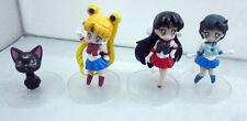 Sailormoon Figures  super cute set of 4 size 8 cm