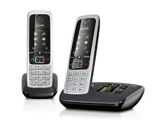 Gigaset C430A Cordless Phone with Answering Machine and Anonymous Call Silencing