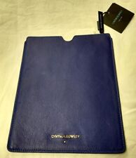 CYNTHIA ROWLEY LEATHER TABLET SLEEVE
