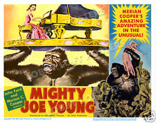 MIGHTY JOE YOUNG LOBBY SCENE CARD # 9 POSTER 1949 TERRY MOORE BEN JOHNSON