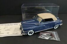 DANBURY MINT Chrysler New Yorker Convertible 1948 1:24 Mint Condition (70)