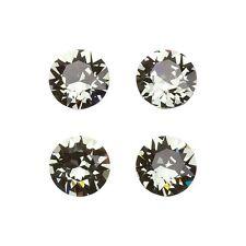 Swarovski 1088 Cristal Transparente Lámina Diamante Negro Nuevo 8mm Paquete de 4 (E96/9)