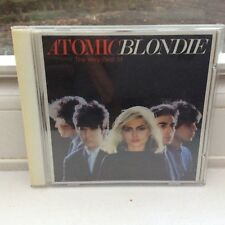 BLONDIE : ATOMIC - GREATEST HITS Best of : Official UK Release CD Album
