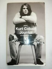 Kurt Cobain Journal musiques & Cie editions 1018 année 2004 N° 3601