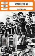 FICHE CINEMA : WINCHESTER 73 - Stewart,Winters,Hudson,Curtis,Mann 1950