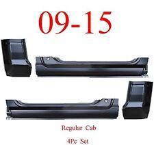 09 15 Ram 4Pc Regular Cab Extended Rocker & Cab Corner Kit, Ram Truck, OEM Type