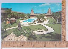 1960s USED POST CARD TAHITIAN MOTOR LODGE TARPON SPR NEW PORT RICHEY, FL