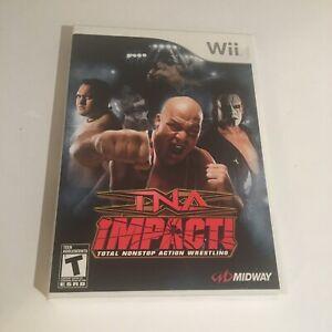 TNA Impact (Wii, 2008) CIB Complete