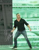 SHANE MCMAHON SIGNED AUTOGRAPH WWE WRESTLEMANIA 11x14 PHOTO BAS COA BECKETT 3