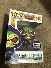 Funko Pop! He-Man MOTU Metallic Battle Armor Skeletor Gemini Exclusive