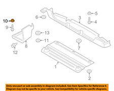 FORD OEM-Fender Liner Nut W711274S439