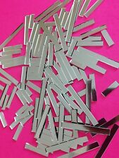 Mosaic Mirror Tiles - 2mm Thickness - 200 pieces various lengths.