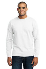 Long Sleeve T-Shirt Comfort Blend Soft Color Blank Plain Mens Tee Casual PC55LS