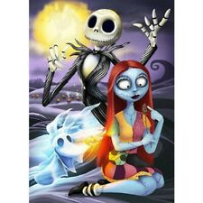 Full Drill DIY Diamond Painting 5D Jack and Sally Decors Embroidery Kits Art