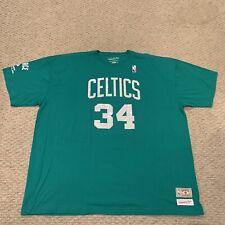 Paul Pierce Boston Celtics Number Retirement T Shirt NBA New NWOT Mens 4XL
