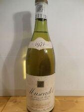 Muscadet 1971 Domaine Beau Soleil - Bouteille De Vin De Loire