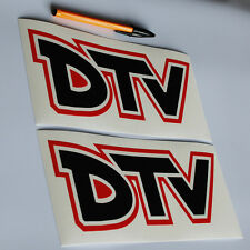 Distribuidor de DTV Equipo Vauxhall Chevette Hs Firenza Magnum Adhesivo Calcomanía impresa x2