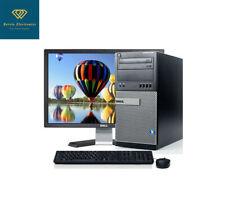 Fast Dell Desktop 3.40GHz Tower Computer 16GB RAM 2TB HDD Windows10 WIFI 22