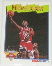 1991/92 Michael Jordan Bulls NBA Hoops Points Milestones Card #317 NM Condition