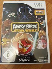 Nintendo Wii Spiel angry birds star wars