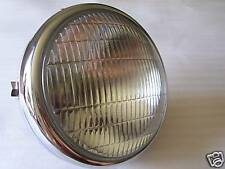 LUCAS HEADLAMP HEADLIGHT FLAT BACK BSA TRIUMPH 1971-73
