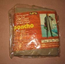 Poncho 52�x 80�