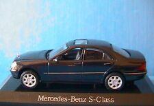 MERCEDES BENZ EDITION S CLASS 500 W220 2003 TANZANITE BLUE MAISTO 1/43 B66961964
