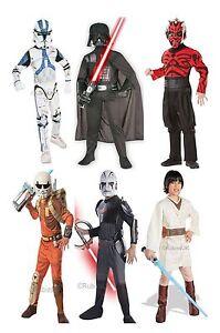 Official Licensed Star Wars Kids Fancy Dress Costume Outfit Film TV Book Week