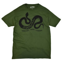 Harry Potter Men's T-Shirt House of Slytherin Ambition Pride Cunning Graphic Tee